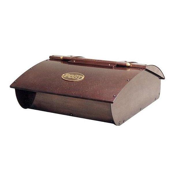 P-4 トラディショナルな郵便ポスト 銅製ポスト