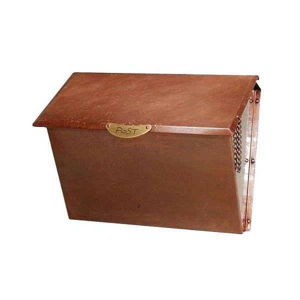 P-7 トラディショナルな郵便ポスト 銅製ポスト