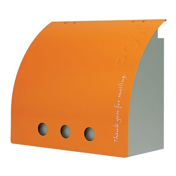 郵便ポスト/シンプル な ポスト ラッセルポスト オレンジ