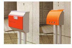 郵便ポスト/シンプル な ポスト ラッセル・シュガーポスト専用 スタンド(ポストは別途)