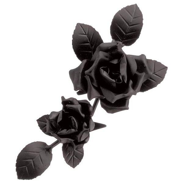 アイアン表札 アイアンクラフト(バラ飾り) SP-28