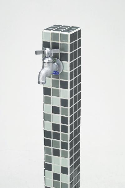 立水栓ユニット モゼック グレーミックス(GM) カジュアルモダンな雰囲気が漂います※メーカー出荷の為商品代金引換不可