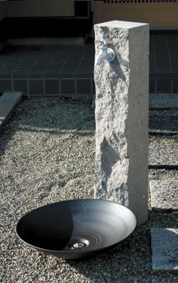 立水栓ユニット 芦野石 タイプ:ANS-3 ※代引交換不可※