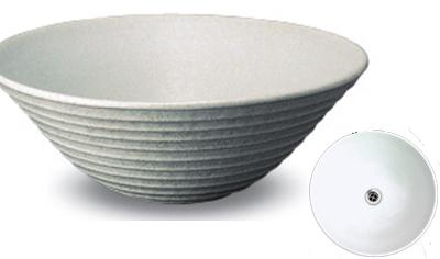 立水栓・水栓・蛇口シリーズ 信楽焼 あめ釉手洗鉢