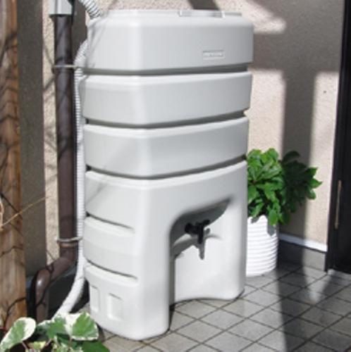 丸一(株) 雨水タンク まる140 (有効貯水100L) セット これだけあればすぐに使用可能雨水利用・雨水タンク ※工場ダイレクト商品の為代金引換 不可
