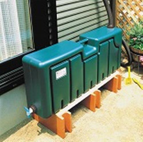 【残りわずか】ミツギロン雨水タンク 80Lセット これだけあればすぐに使用可能 ※工場ダイレクト商品の為代金引換不可