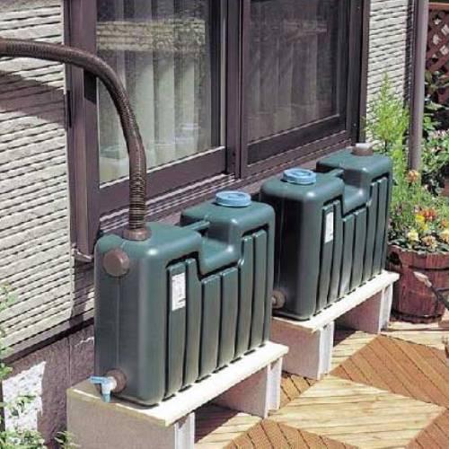 ミツギロン雨水タンク 100Lセット これだけあればすぐに使用可能 ※工場ダイレクト商品の為代引不可