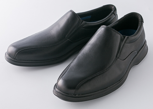 数量限定 紳士靴 ビジネスシューズ ROCKPORT ロックポート ドレスポーツ2ライト バイクスリップオン ブラック | h79874-black