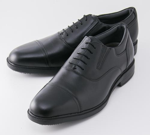 紳士靴 texcy luxe(テクシーリュクス) TU-7787 ブラック ビジネスシューズ アシックス