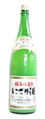 桜うづまき 公式サイト 最新アイテム にごり酒 1800ml