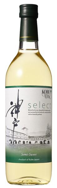 神戸ワイン セレクト やや甘口 白 720ml まとめ買い(×12)