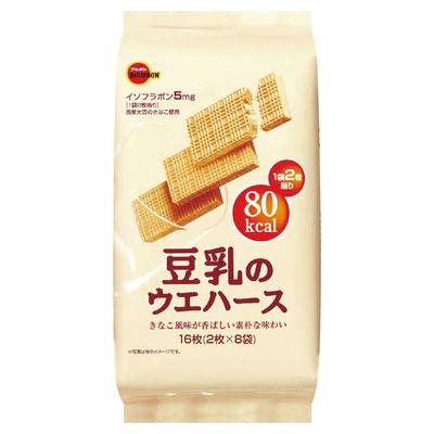 ブルボン 豆乳のウエハース 8袋 8袋 まとめ買い(×6)|4901360285587(dc)