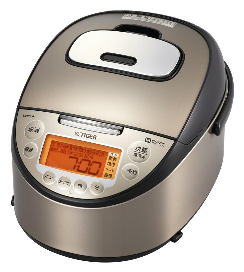 炊飯器 タイガー IH炊飯ジャー(1升炊き) TIGER tacook JKT-J181-TP パールブラウン 魔法瓶 タクック【送料無料】|4904710423967