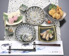 (有)ふく太郎本舗 銀座ふく太郎(R) おもてなしコース (2人前)|21558 :シーフード