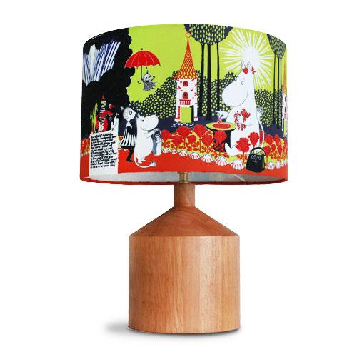 【送料無料】MOOMIN ムーミン谷の切り株 テーブルランプ ≪イエロー≫ ムーミン / デザイナーズ照明 / 卓上照明