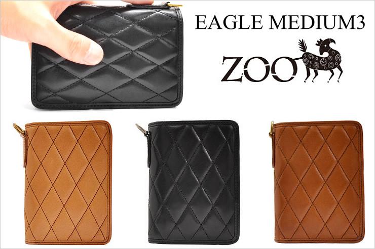 ZOO(ズー) ディンゴミディアムウォレット3 メンズ 財布 ラウンドファスナー 送料無料【02P11Apr15】
