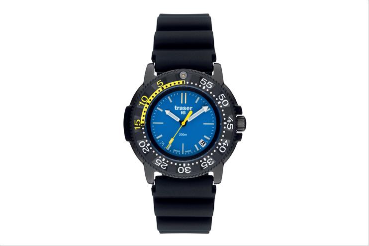 traser トレーサー 腕時計 NAUTIC Rubber P6504.93C.6E.03