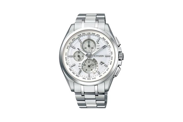 CITIZEN シチズン AT8040-57A 『アテッサ ATTESA』 エコ・ドライブ ワールドタイム 腕時計 うでどけい メンズ MENS【02P11Apr15】