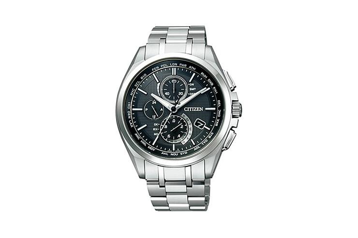 CITIZEN シチズン AT8040-57E 『アテッサ ATTESA』 エコ・ドライブ ワールドタイム 腕時計 うでどけい メンズ MENS【02P11Apr15】