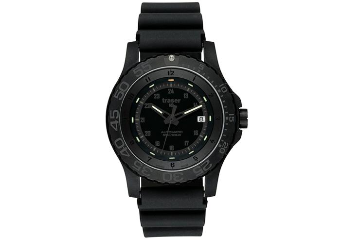 トレーサー traser MIL-G Automatic All Black 9031565 メンズ腕時計 300m防水 日本限定モデル ポイント10倍 送料無料