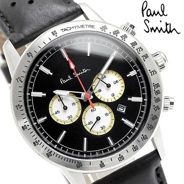 Paul Smith ポールスミス 腕時計 ウォッチ メンズ 男性用 クロノグラフ カレンダー PS0110001