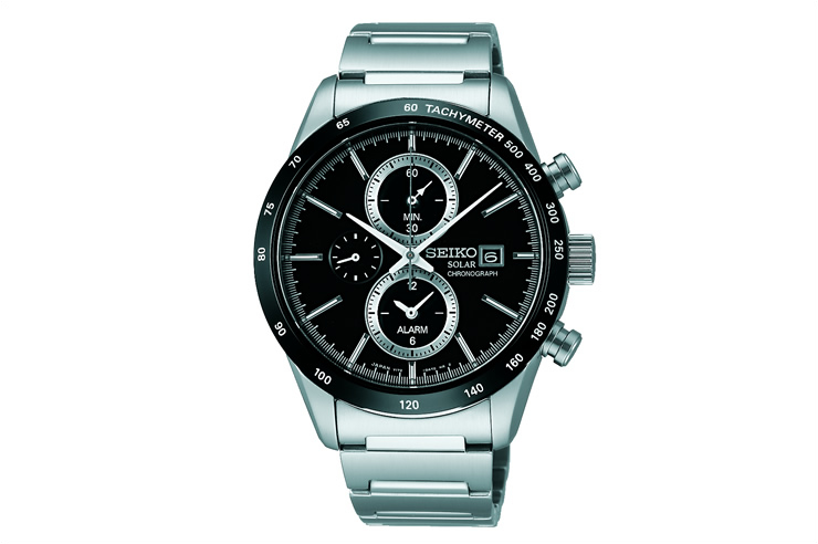 SEIKO セイコー SPIRIT SMART スピリットスマート クロノグラフ ソーラー 腕時計 SBPY119 メンズ うでどけい ウォッチ MEN'S【02P11Apr15】