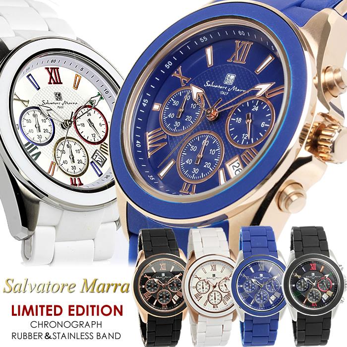 Salvatore Marra サルバトーレ マーラ クロノグラフ 腕時計