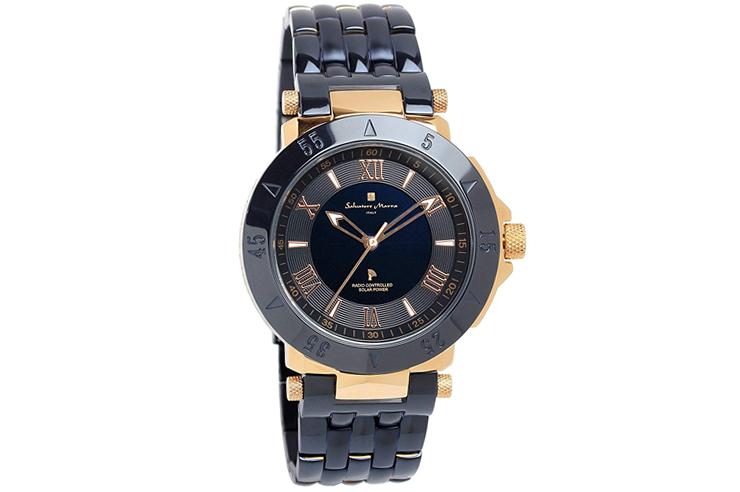 サルバトーレマーラ 電波 ソーラー 腕時計 メンズ 限定モデル SM18112