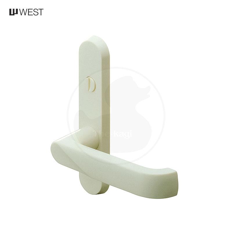 個室 浴室 トイレ 内鍵付き ドアノブ レバー 交換 修理 信憑 部品 純正 WEST レバーハンドル 167 ウエスト A51 長座 内締錠 樹脂製 室内 Hnadle BS29.5mm 対応扉厚30mm~34mm いよいよ人気ブランド Lever