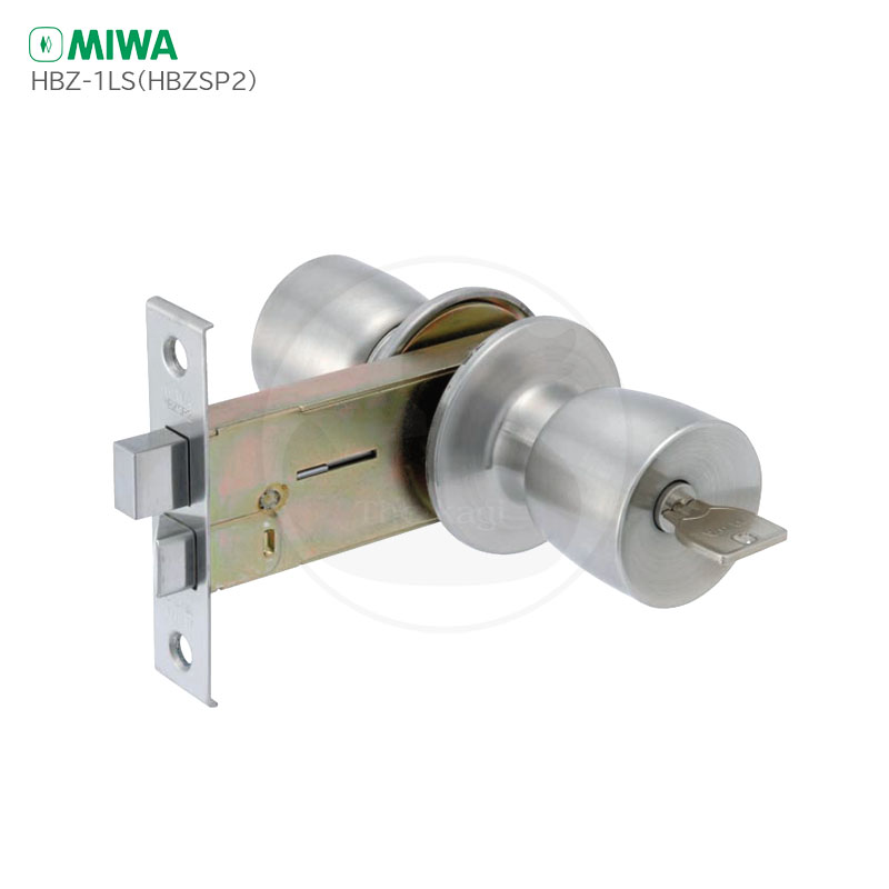 平フロント MIWA HBZSP2 握り玉錠 U9キー3本付 玉座 ドアノブ 交換 YKKap メーカー在庫限り品 M-66 高級な M66 HBZL2 取替えセット HBZSP-2 美和ロック HBZ-1LS