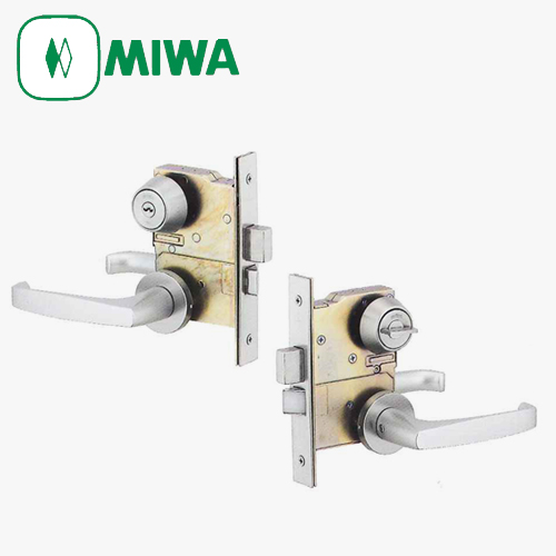 ドアノブ 鍵 交換 部品 玄関 勝手口 扉 MIWA LDA-1 レバーハンドル錠セット BS64専用 キー3本付 ディンプルキー選択可能 工事有 迅速な対応で商品をお届け致します 記念日 LDAシリーズ 美和ロック シリンダー +サムターン つまみ 送料無料 鍵穴 LD 代替品