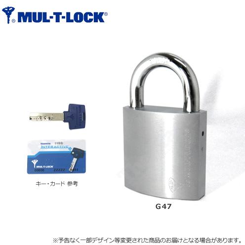 [廃番]MUL-T-LOCK padorokku挂锁G47