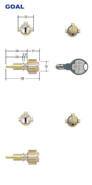三協 立山 CAPIOS GCY108 ツーロック 鍵 カギ 交換 部品 DIY テール刻印27.5 期間限定お試し価格 2ロック ディンプルキー GOAL D9シリンダー 2個同一キー 高品質 PXタイプ CAP-1 PXG-TDD D-PX GCY-108 ゴール キー5本付 シルセット