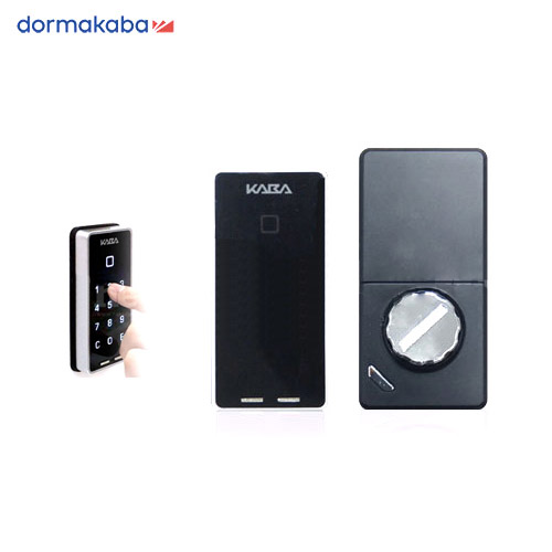 Kaba drive 電動サムターンロック カードキー3枚+リモコン1個付 タッチパネル 暗証番号 電子錠【kabadrive カバドライブ】【MIWA LA DA LSP】【GOAL LX HD TX】【狭框対応】【送料無料】