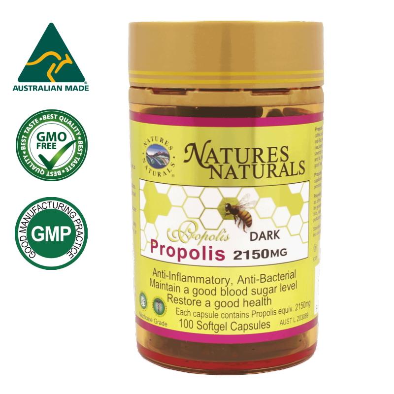 プロポリス 2150mg 生プロポリス樹脂 5倍濃縮 ビタミンE配合 GMP認定 サプリメント 約100日分 100粒 ケース入り 選べるサプリメント(7粒)プレゼント付き ミツバチからの贈り物、バリアのチカラで毎日元気に 1粒にプロポリス2150mg