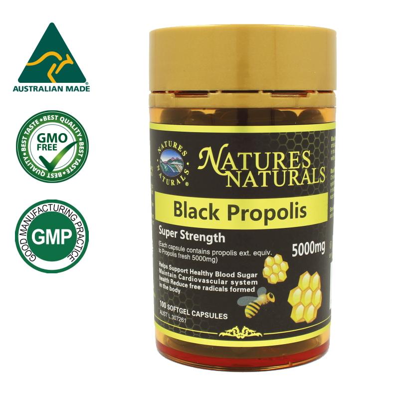 【生プロポリス樹脂換算 10倍濃縮】ブラック・プロポリス 5,000mg 約100日分(100錠/ケース入り)。選べるサプリメント(7錠)プレゼント付き。ミツバチからの贈り物、バリアのチカラで毎日元気に。1粒にプロポリス5,000mg、ビタミンEも配合。GMP認定サプリメント。