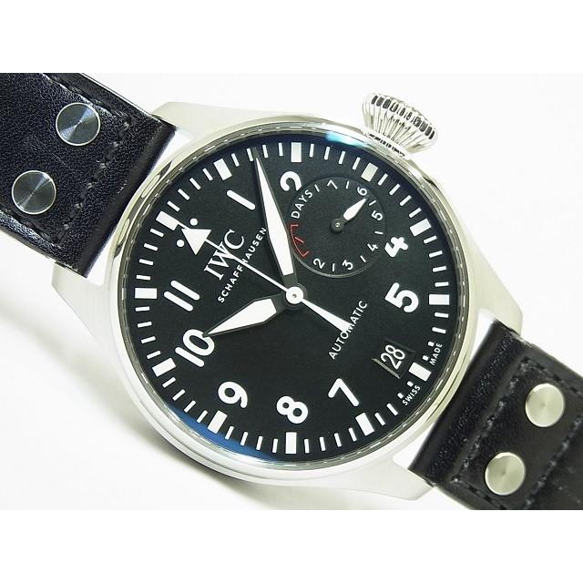 【中古】IWC(アイダブリューシー)ビッグ パイロットウォッチ IW500912 国内正規品