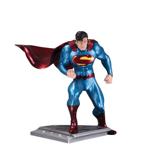 DC Collectibles The マン of スチール スーパーマン Superman アクション Figure Statue by Jim Lee Statue (海外取寄せ品)