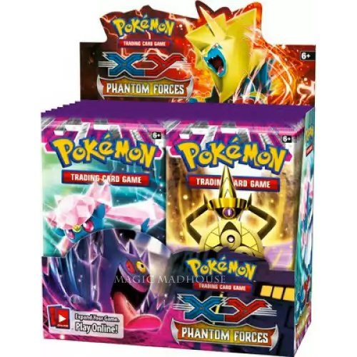 Pokemon Trading Card ゲーム: XY-ファントム Forces Booster ディスプレイ (36 Boosters) (海外取寄せ品)