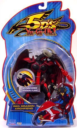 Yu-Gi-Oh 5D's Playmates Figures - レッド DRAGON ARCHFIEND (Scorching クリムソン Flare) (海外取寄せ品)