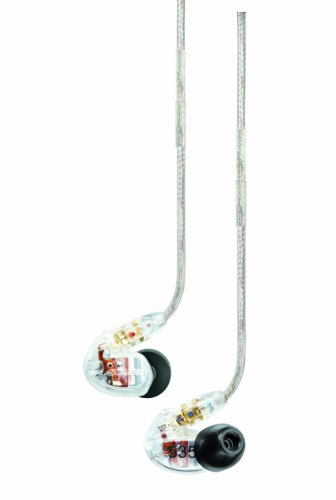 Shure SE535-CL Sound Isolating Earphones with トリプル ハイ Definition MicroDrivers 『海外取寄せ品』