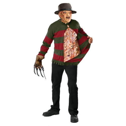 Freddy Krueger セーター with チェスト Of Souls - スタンダード (Fits Up To 44 ジャケット Size) (海外取寄せ品)