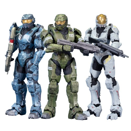 McFarlane Toys Halo レジェンド - The Package (3-Pack) (海外取寄せ品)