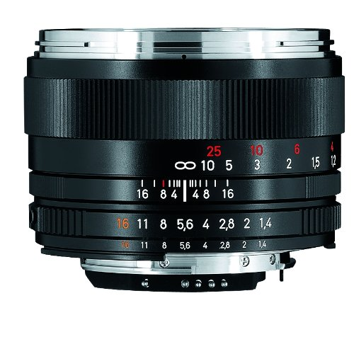 Zeiss 50mm f/1.4 Planar T ZF.2 Series マニュアル フォーカス レンズ for the Nikon F (AI-S) Bayonet SLR System (海外取寄せ品)