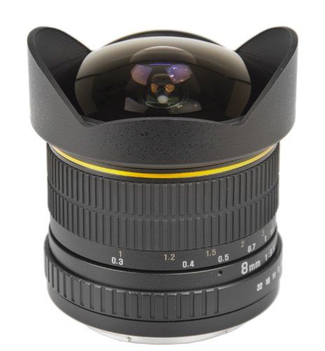 Bower SLY358S Ultra ワイド-Angle 8mm f/3.5 Fisheye レンズ for ソニー (海外取寄せ品)
