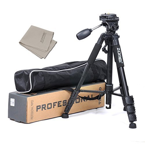 Zomei Z666 Professional Portable Aluminum Tripod for Camera and Video. インクルーズ Carrying Case. Applicable For Canon, Nikon, ソニー etc. (海外取寄せ品)
