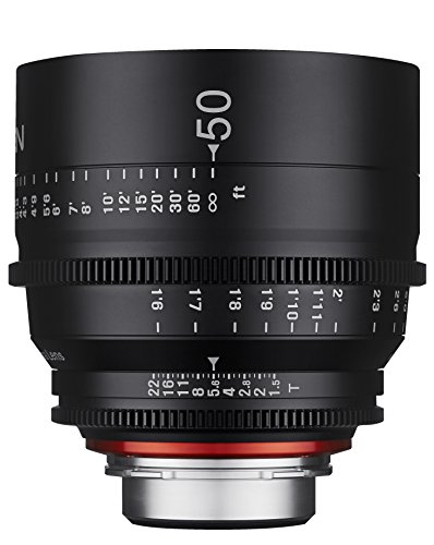 Rokinon Xeen XN50-PL 50mm T1.5 Professional CINE レンズ for PL Mount (海外取寄せ品)