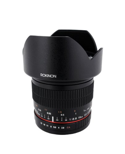 Rokinon 10mm F2.8 ED AS NCS CS Ultra ワイド Angle レンズ for キャノン Canon EF-M Mount Compact System Cameras (10M-M) (海外取寄せ品)