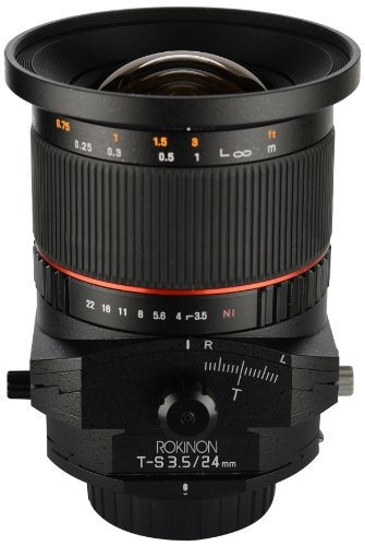 Rokinon TSL24M-N 24mm f/3.5 Tilt Shift レンズ for Nikon (海外取寄せ品)