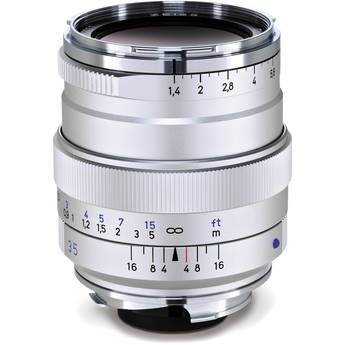 Zeiss 35mm f/1.4 Distagon T* ZM レンズ for M-Mount (Silver) 2109-165 (海外取寄せ品)